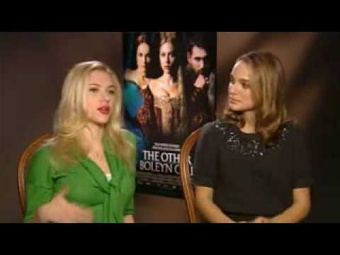 Scarlett Johansson and Natalie Portman Interview: The Other Boleyn Girl Movie