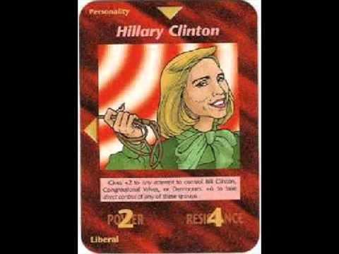 Illuminati Card #100 - Hillary Clinton