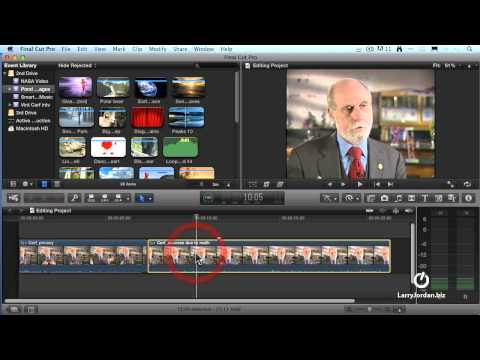Final Cut Pro X -- Editing and Trimming Techniques (Webinar Preview)