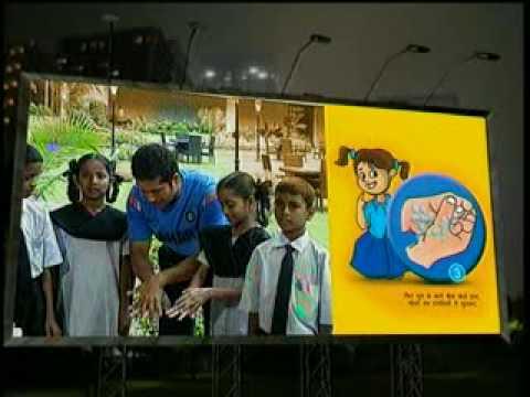 Sachin Tendulkar on Global Handwashing Day