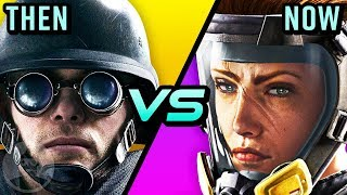 Rainbow Six Siege - Then Vs Now - Evolution From Beta To Now | The Leaderboard