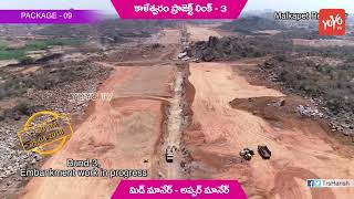 Presentation on Kaleshwaram Project Link 3 Works | Mid Manair to Upper Manair | Telangana