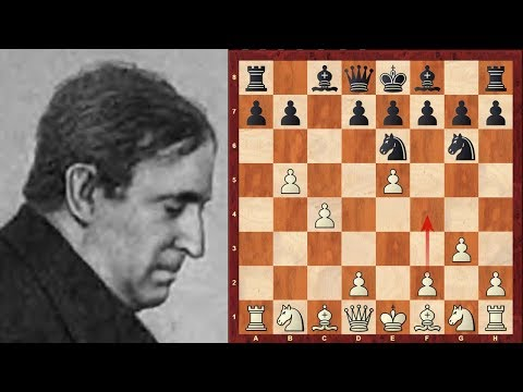 Frank Marshall's Outrageous pawn moves immortal game! vs Hyman Rogosin - 1940