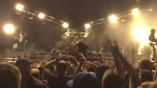 Disturbed live, Red Hat Amphitheater, Raleigh NC