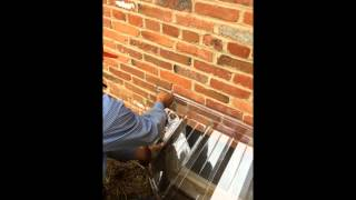 Installing A Window Well Guard