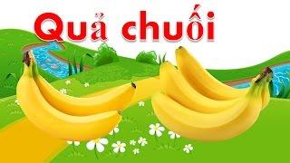 Dạy bé tập nói các loại quả tiếng việt   em học đọc tên trái cây qua hình ảnh