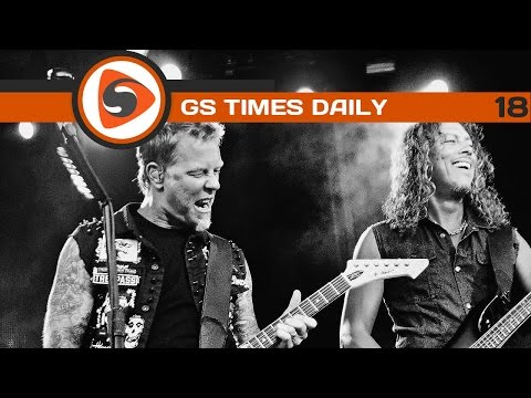 Gs Times [daily]. Metallica станет хедлайнером Blizzcon 2014 video