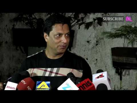 Madhur Bhandarkar | Madaari Movie Screening