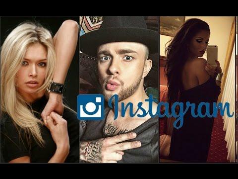 Самые популярные российские звёзды в Instagram 2015