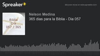 365 dias para la Biblia - Dia 057