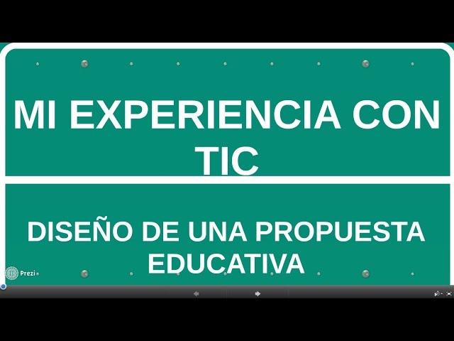 Mi experiencia con TIC
