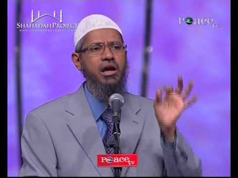 Hq: Peace Conference 2009 - Women's Rights In Islam By Dr. Zakir Naik - Part 21 21 video