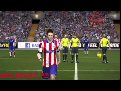 GamePlay Fifa 15 Tournament Atletico Madrid home vs Chelsea Full Match #GameNetworkPS