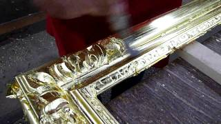 Burnishing Gold on Frame #C530 (HD)