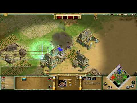 Let's play Fr HD - Age of Mythology The Titans Ep.03 - Isis Part.b