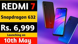 Redmi 7 Price & Launch date in India| Official First Look| Redmi 7 Vs Redmi note 7 Pro.