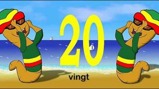 Les chiffres et les nombres de 1 a 20 - alain le lait (French numbers from 1 to 20)