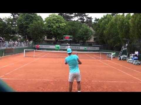 Rafael Nadal Hitting in High Definition
