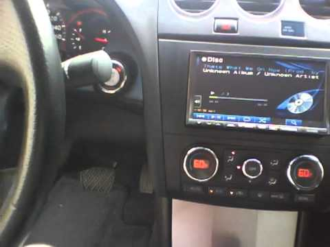 Alpine Headunit Install In 2008 Altima Coupe Playin Some