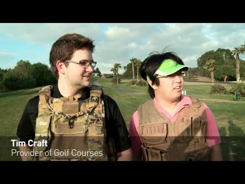 Behind the Scenes - The Golf War