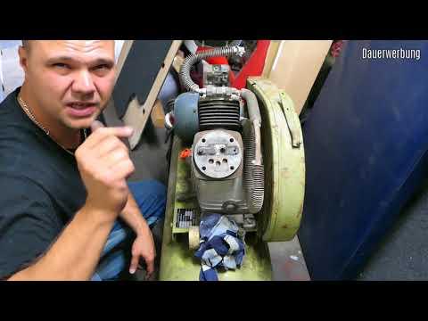 KAESER Kompressor 50 Jahre alt - wieder fit machen