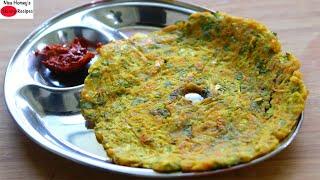 Instant Breakfast Recipes - 10 Mins Bachelor PG Hostel Cooking - Indian Breakfast Ideas - Jowar Roti
