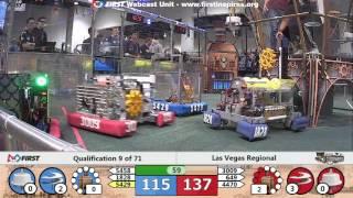 Qual 9 - 2017 Las Vegas Regional
