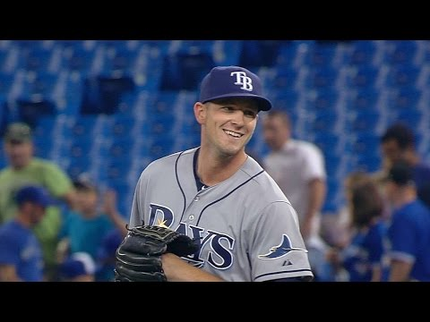 Smyly induces groundout to seal the shutout