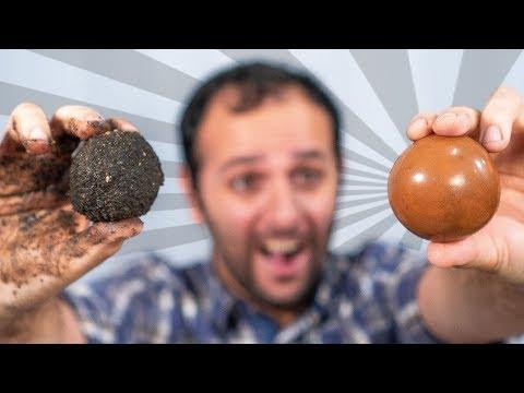 Como fazer a bola de lama perfeita (Hikaru Dorodango)