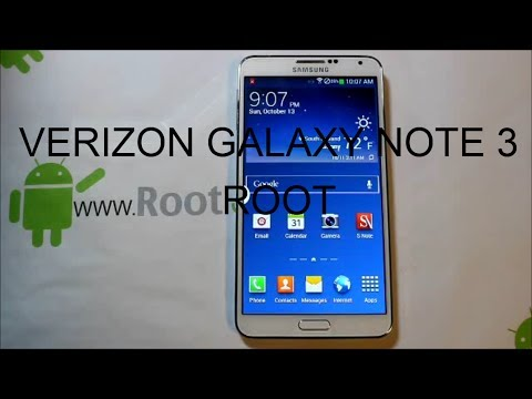 Verizon Samsung Galaxy Note 3 Rooting instructions
