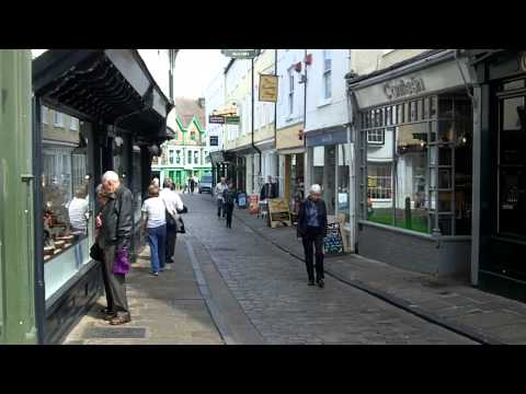 City Centre, Canterbury, Kent.