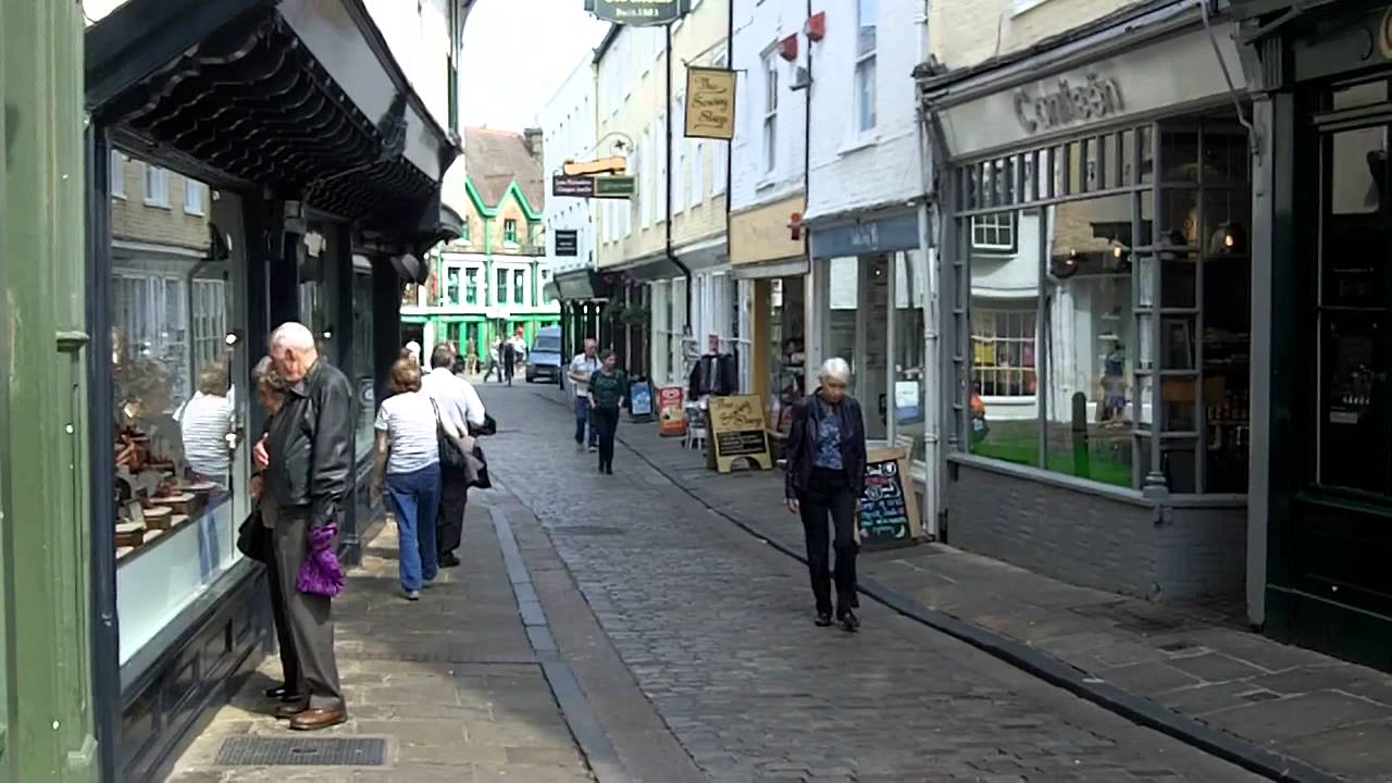 City Centre Canterbury Kent Youtube