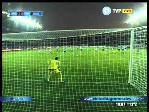 Argentina 2 Paraguay 2 (Relato Victor Hugo)  Copa America 2015