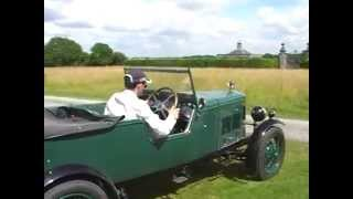 Vintage Minor Register NAVIGATION RALLY 2014 in 1928 Morris Oxford