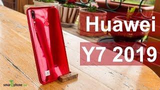 Huawei Y7 2019 - хорошие камеры, большой экран и яркий корпус