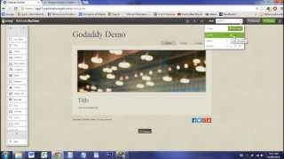 How to Set Up Website With GoDaddy - 2015!