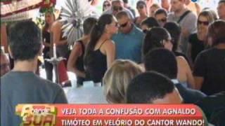 Confusão com Agnaldo Timóteo no velório do cantor Wando