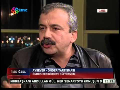 Sırrı Süreyya Önder Enver Aysevere ateş püskürdü