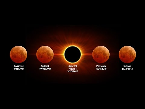 Live - Blood Moon 2015 4/4 - ElUl 29 - Shemitah