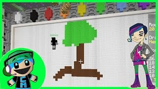Draw My Thing Mini Game on Mineplex with Radiojh Audrey Games - Minecraft