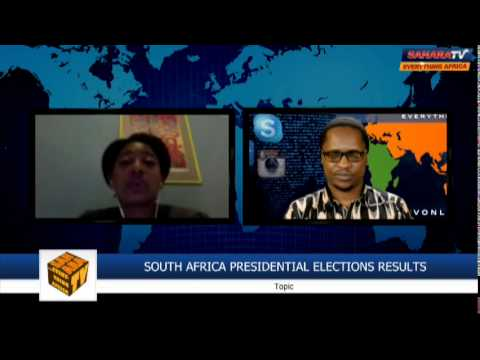 """With This Election [South Africa] It's Been More Peaceful Than Expected""- Lynsey Chutel"