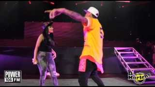 "PowerHouse 13 - Chris Brown and Nicki Minaj Perform ""Take It To The Head"""