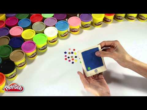 Как сделать планшет из пластилина видео