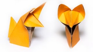 Origami Fox. How to make a cute Fox