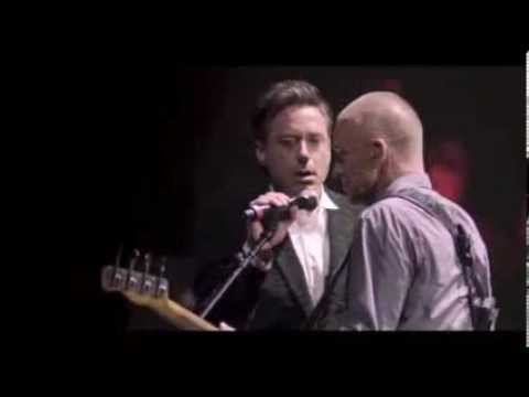 The Avenger's Stars Robert Downey Jr and Jeremy Renner Singing Live