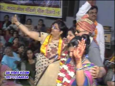 Phoolon Mein Saj Rahein Hain, Sri Brindaban Bihari  Krishna Bhajan -  Moti Mehta Ji video