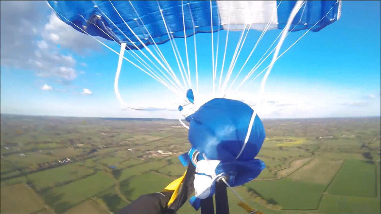 [When Your Parachute Doesn't Open Right] Video