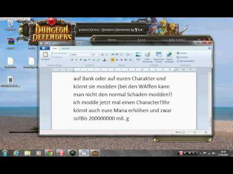 Dungeon Defenders mod (xbox 360) German /Deutsch