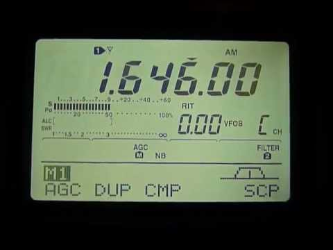 reception of pirate radio on 1646 khz - 02/11/2012