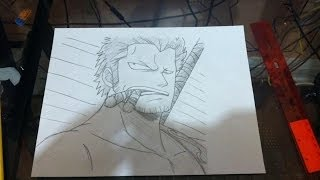 How to Draw Smoker- スモーカー- One Piece